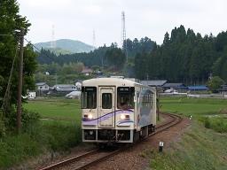 アケチ14 / 9D・明知鉄道線 山岡-野志(オリンパス E-300(ZUIKO DIGITAL 14-54mm F2.8-3.5))