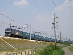 EF210-123 / 2057レ・東海道本線 逢妻-大府(オリンパス CAMEDIA SP-320)