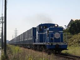 ND552 8 / 308レ・名古屋臨海鉄道南港線 新日鉄-東港(オリンパス E-300(ZUIKO DIGITAL 14-54mm F2.8-3.5))