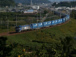 EF210-112 / 2057レ・東海道本線 三河大塚-三河三谷(オリンパス E-300(ZUIKO DIGITAL ED 40-150mm F4.0-5.6))