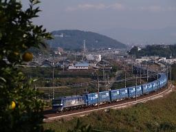 EF210-121 / 2057レ・東海道本線 三河大塚-三河三谷(オリンパス E-300(ZUIKO DIGITAL ED 40-150mm F4.0-5.6))